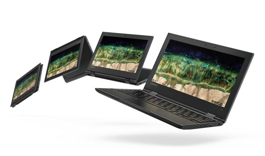 Lenovo تستعد لإطلاق ثلاثة أجهزة Chromebooks مصممه للتعليم