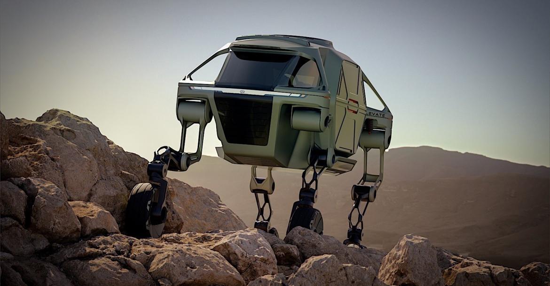 هيونداي تقدم نموذج أولي لسيارة التدخل السريع المستقبلية 'Elevate