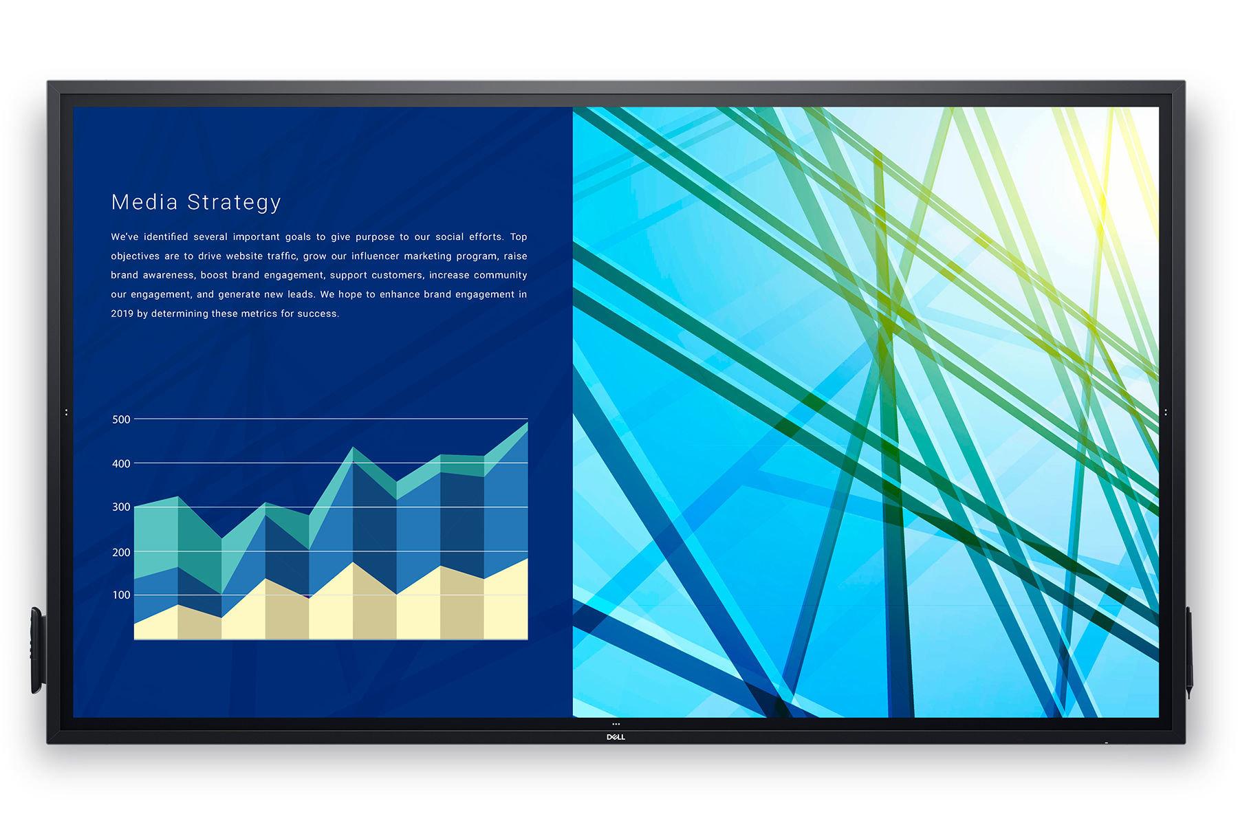صورة Dell تكشف عن شاشة مكتبية مقاس 86 بوصة لقطاع الأعمال #CES2020
