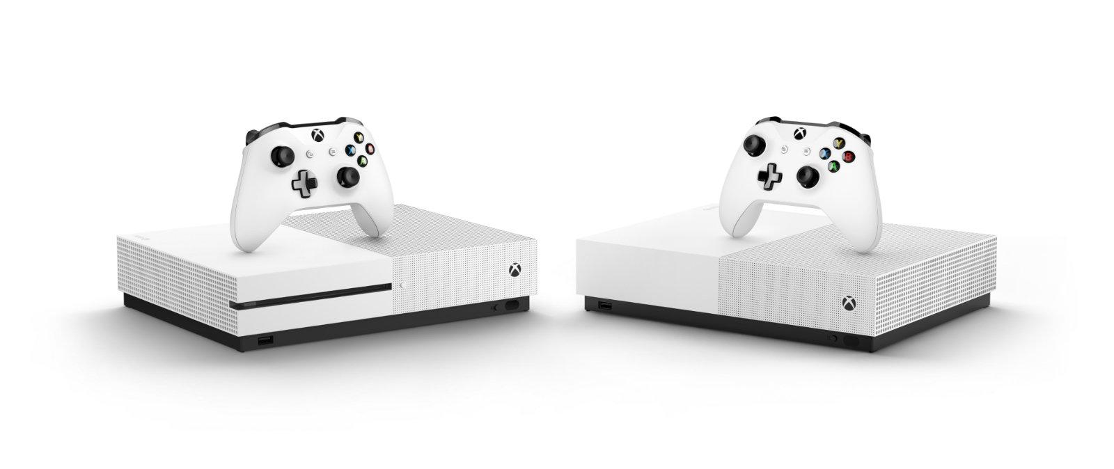 disc-free Xbox One S