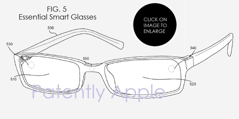 essential smart glasses patent