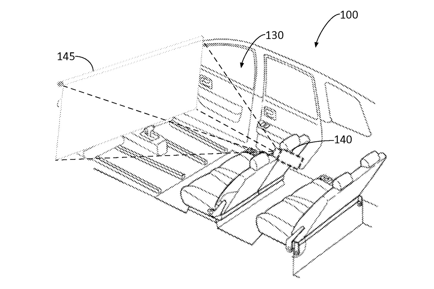 ford self driving cinema patent