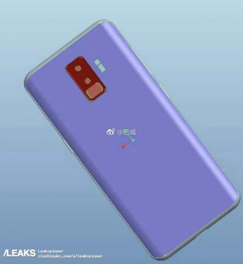 galaxy-s9-cad leaked