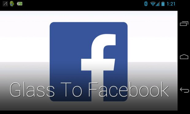 glass-to-facebook