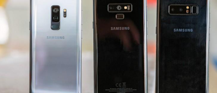 برنامج Android Pie الثابت يكشف عن أربعة طرازات من سامسونج جالكسي S10