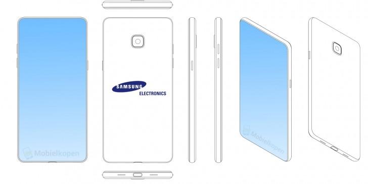 Samsung patents notche