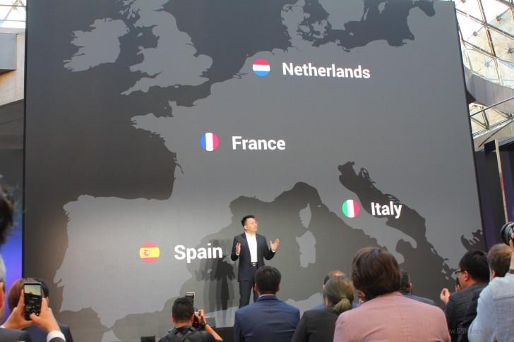 شركة أوبو موجودة بشكل رسمي قريبا في أوروبا