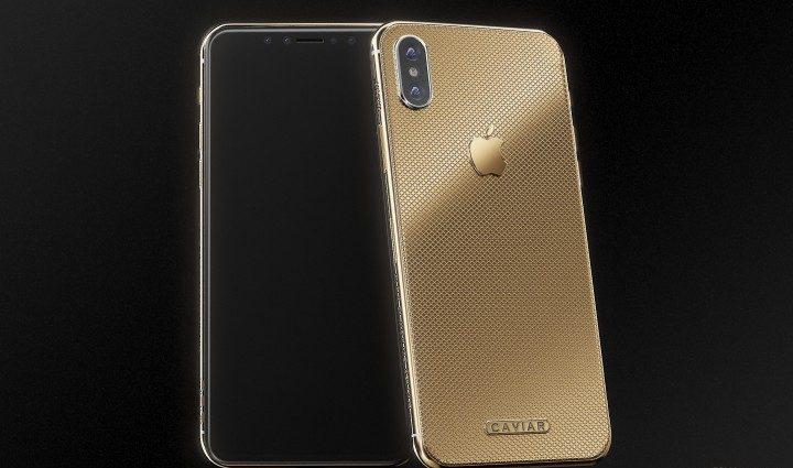 Caviar سوف تبيع هاتف آيفون X مطلي بالذهب بسعر 4510 دولار