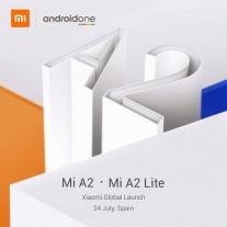 شاومي تؤكد على موعد إطلاق هاتف Mi A2 Lite في 24 يوليو
