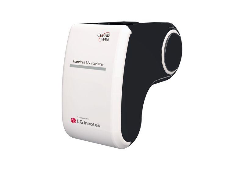 handrail UV LED sterilizer 2