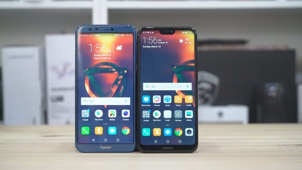 مقارنة مابين الهاتفين Honor 9 Lite ضد Huawei Nova 3e من الأفضل؟