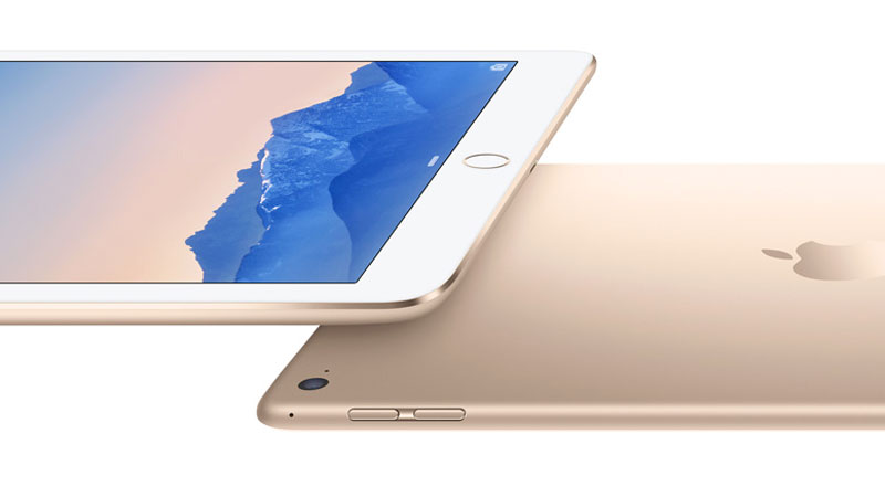 iPad Air gold