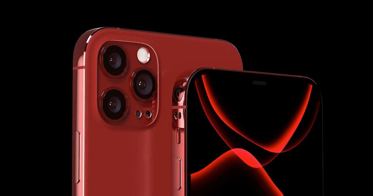 Photo of ابل تقدم هاتفها المرتقب IPHONE 12 PRO بألوان الأزرق والأحمر