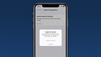 iPhone-Apple ID accounts locked