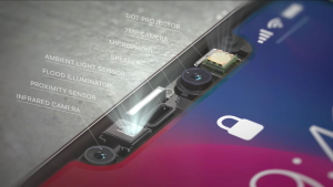 iPhone Face ID camera system