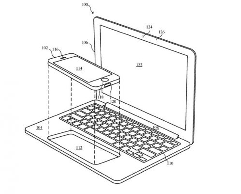 iPhone Powered Laptop