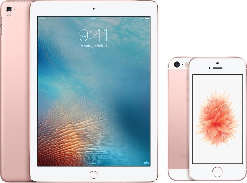 iPhone SE -iPad Pro 9.7