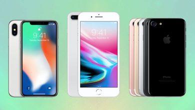iPhone X vs iPhone 8 vs iPhone 7