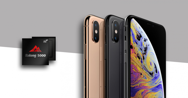 iPhones-with-Huawei-Balong-5000-5G-modem