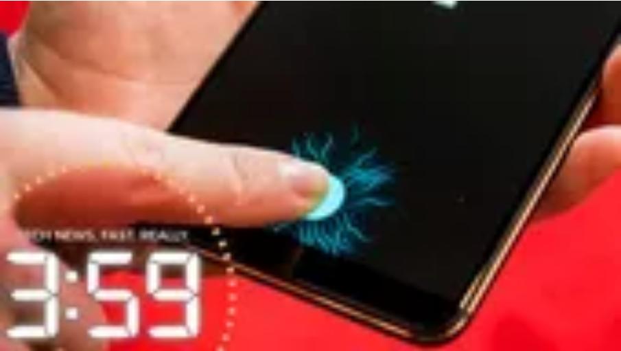 in-screen fingerprint reader