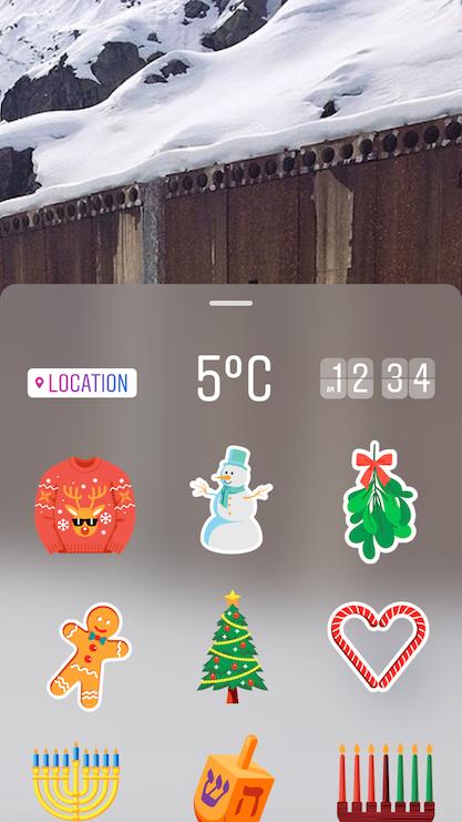 instagram-update- Sticker Picker