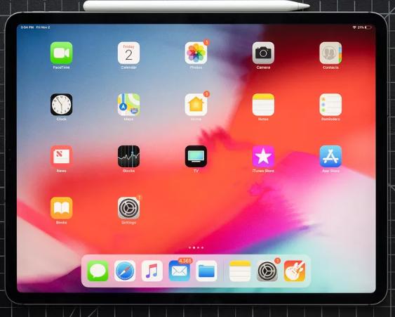 تؤكد أجهزة iPad 2018 تأتي بإنحناء بسيط الهيكل