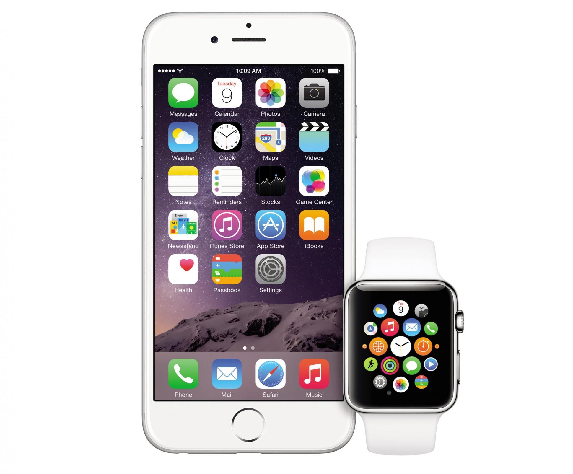 iphone 6s- apple watch