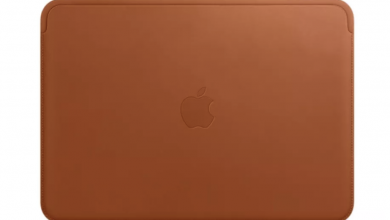 leather sleeve for 12-inch MacBooks