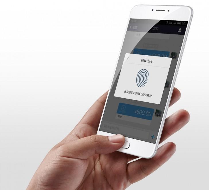 m3 note-fingerprint reader