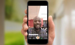 make a video call