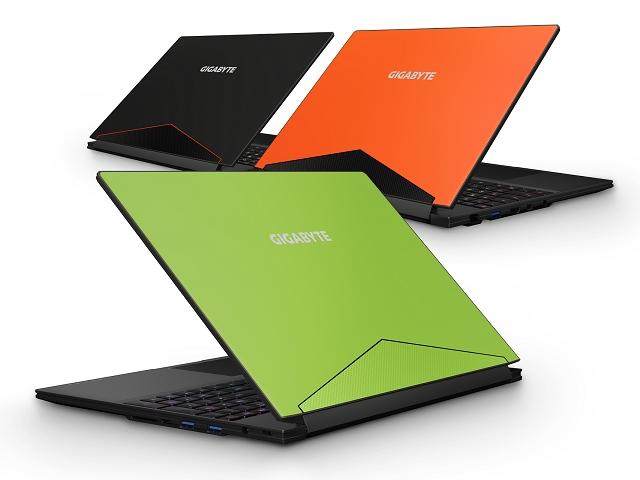 new Aero 15 laptop