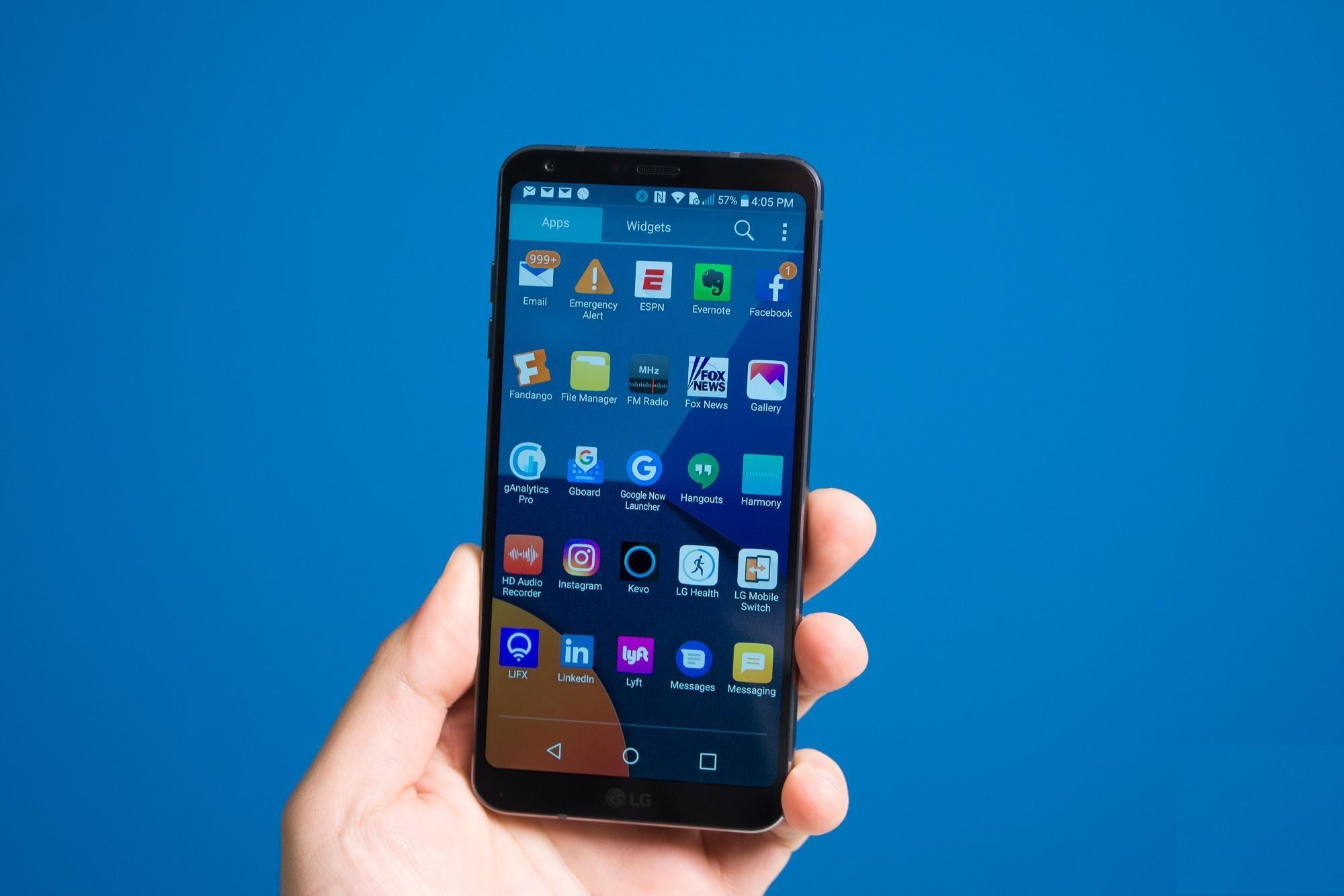 new G6 smartphone