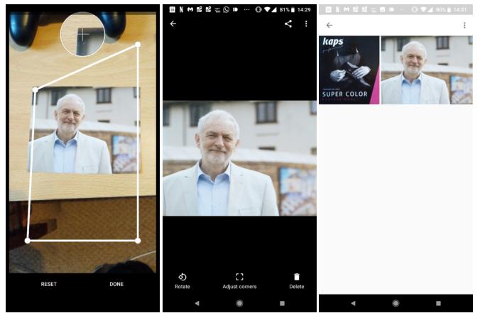 تحديث جديد لتطبيق Google PhotoScan يجلب ميزة الحفظ التلقائي