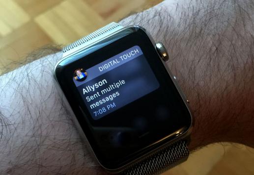 notifications on apple watch