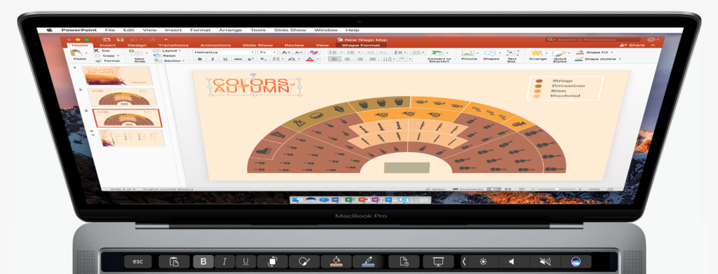 office for mac adds touch bar support 2