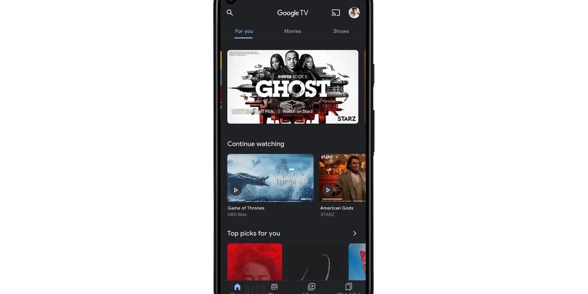 صورة تطبيق Google Play Movies & TV أصبح الآن Google TV