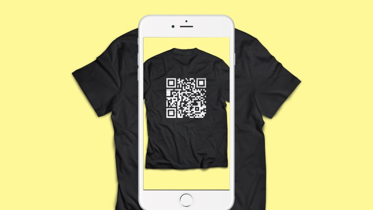 qr code t shirt