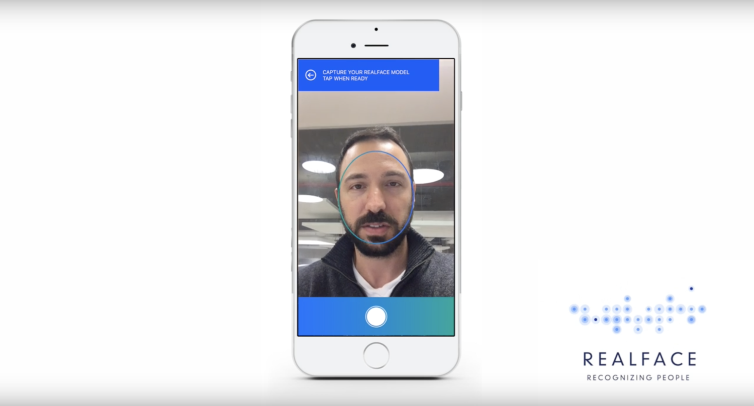 realface iphone 8 facial recognition