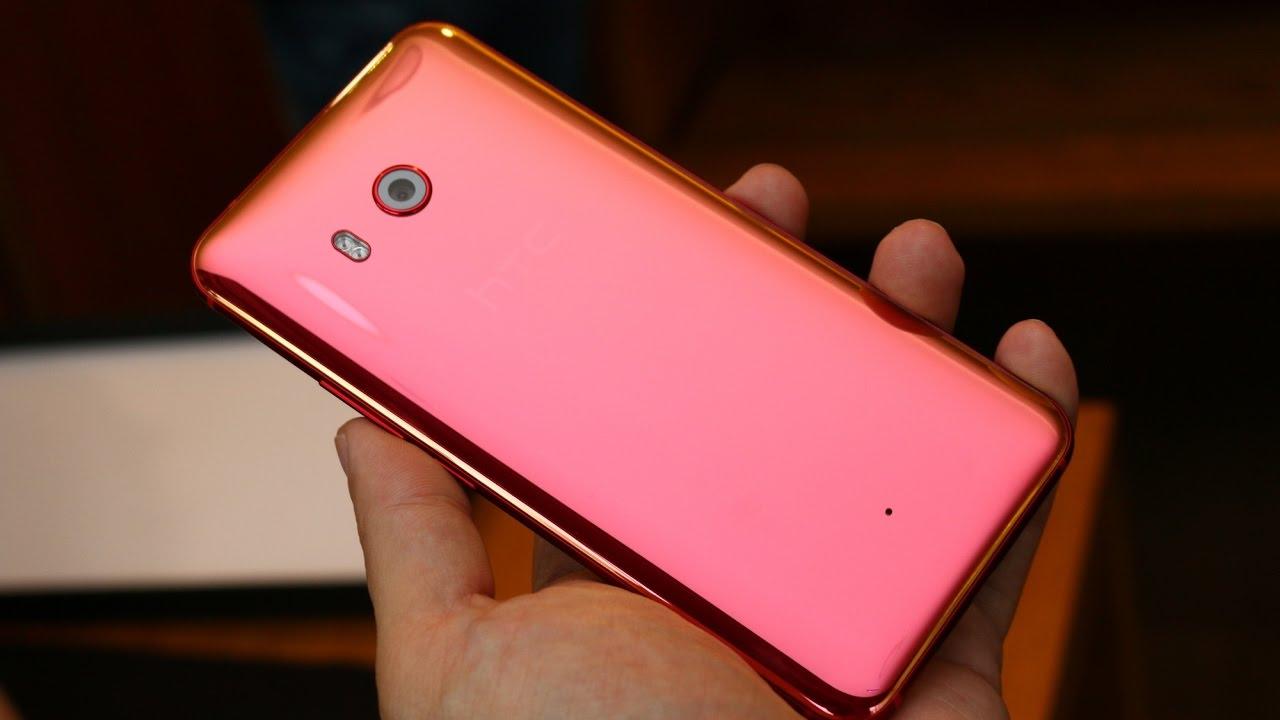 red HTC U11