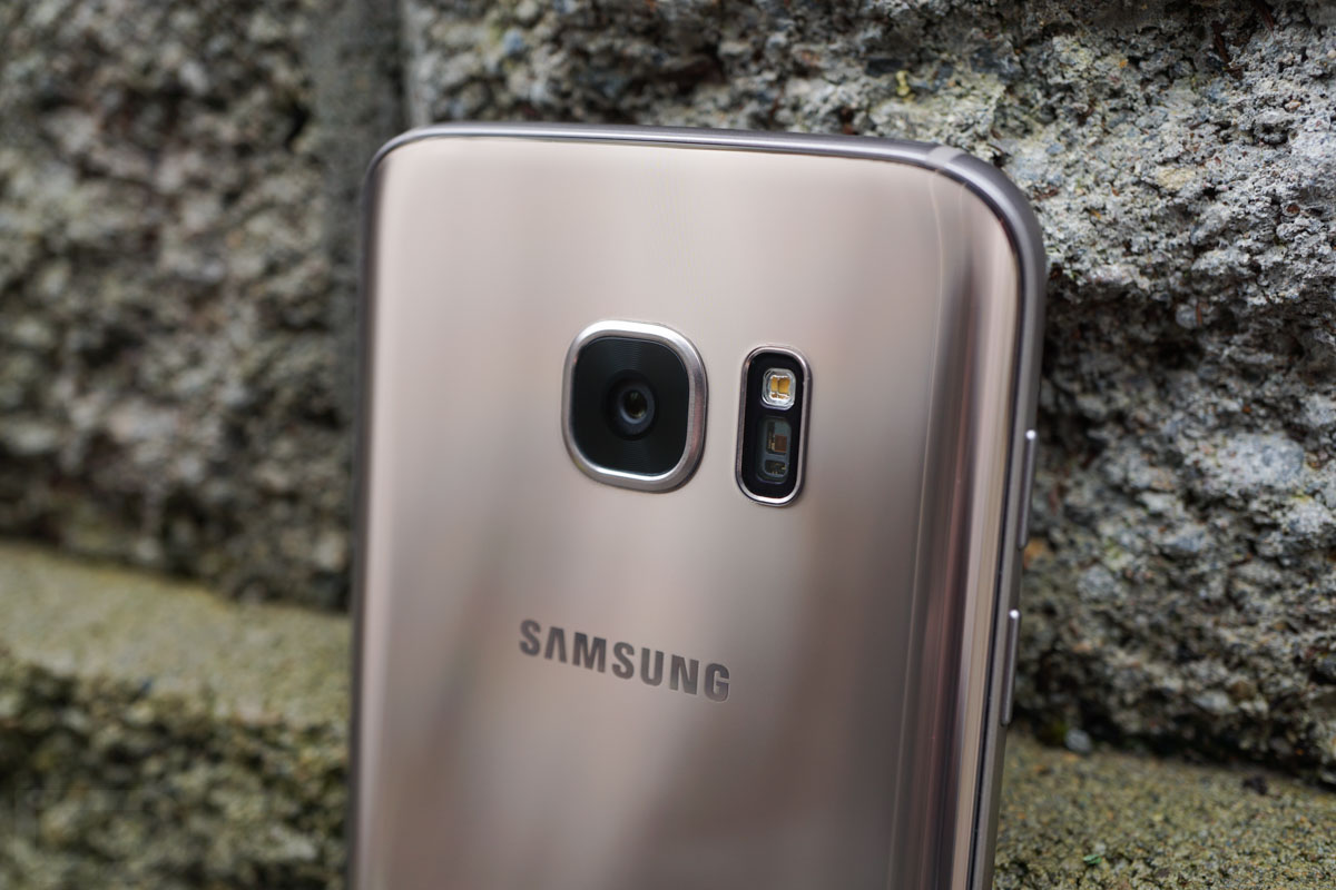 samsung galaxy s7 gold camera