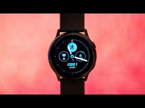 مراجعة للساعة الرياضية Samsung Galaxy Watch Active