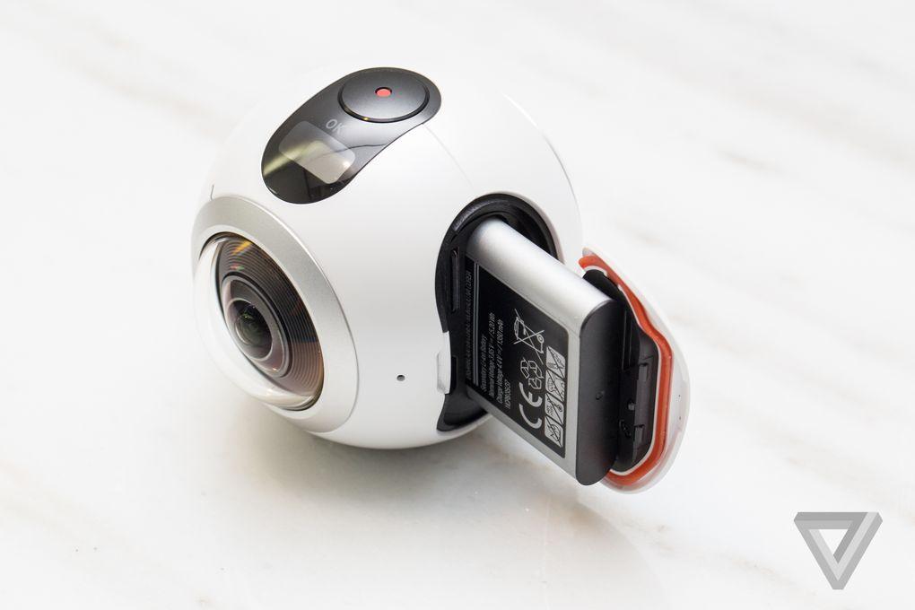 samsung gear 360 battery