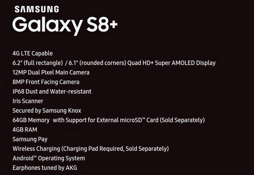 samsung-s8-plus-specs