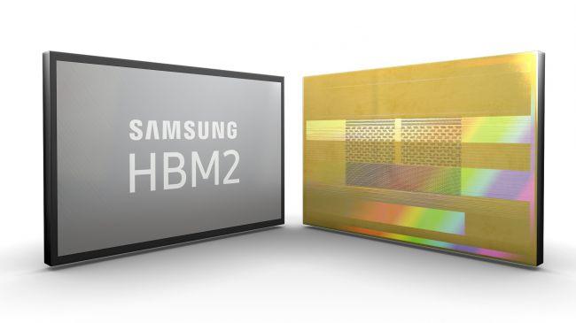 second-generation High Bandwidth Memory-2 (HBM2)