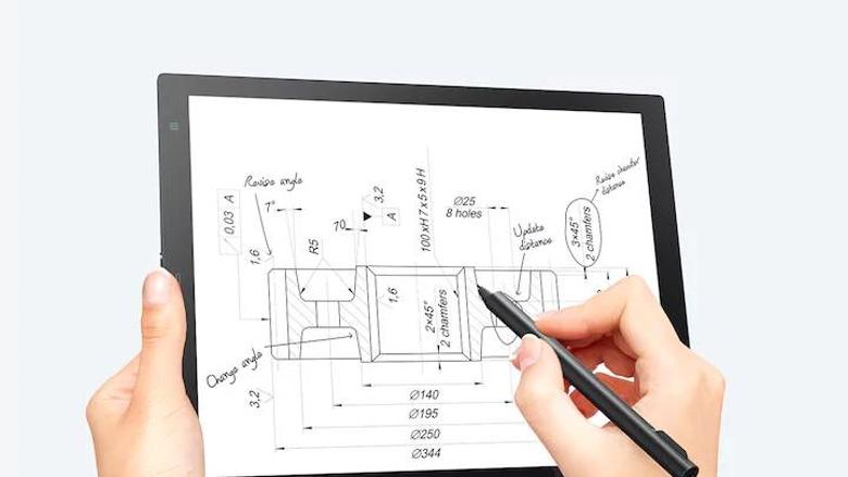 سوني تقدم الجهاز اللوحي Digital Paper بتقنية الحبر الالكتروني والقلم