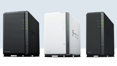 synology NAS boxes