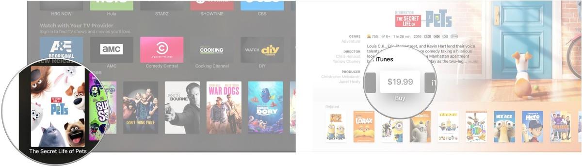 tvos buy movies tv 2