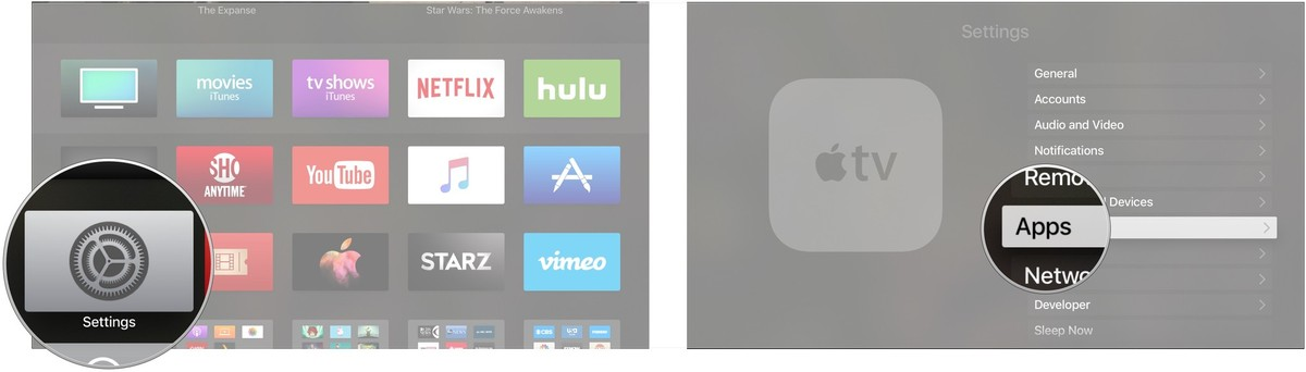 tvos remove connection 1