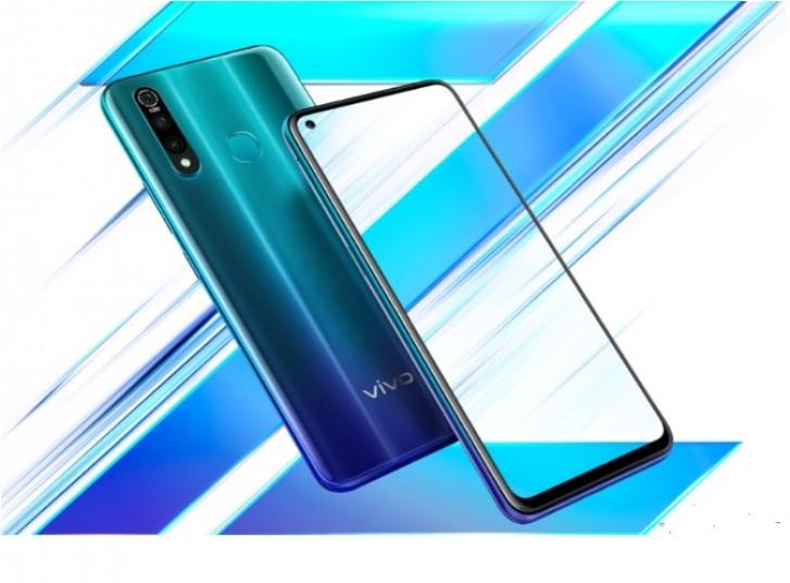 هاتف vivo Z5x يأتي بتصميم ثقب الشاشة مع كاميرة ثلاثية في الجهة الخلفية