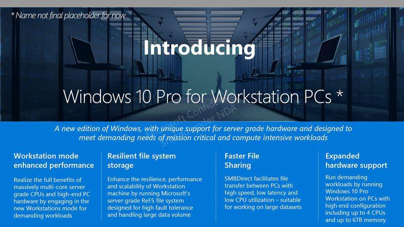 windows10 workstation